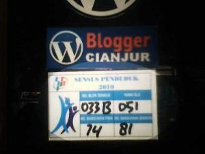 Stiker Sensus Penduduk 2010